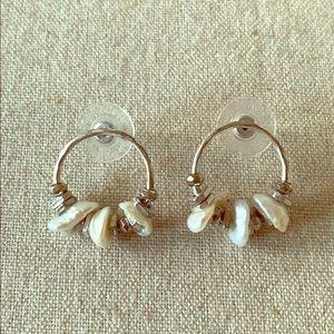 Stella & Dot Rumi hope earrings